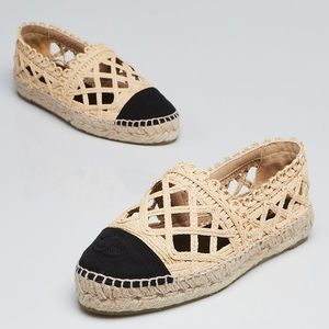 Authentic Chanel Espadrilles - GREAT CONDITION